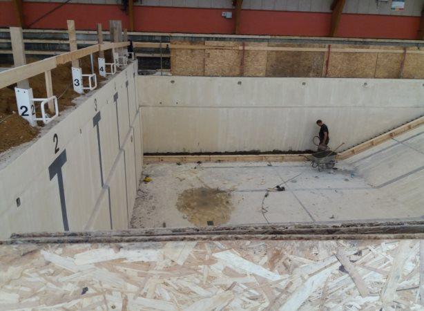konstruktion med beton